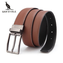 Men's Belt For Jeans 100% Genuine Leather