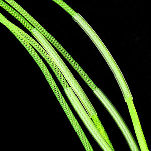 Piscifun 6 Pcs 50lb Braided Leader- Clear Or Yellow