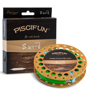 Piscifun Sword Forward Floating Fly Fishing Line with Welded Loop