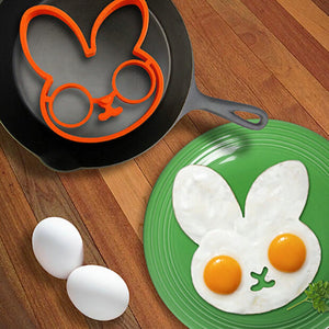 Silicone Bunny Egg And Pancake Ring