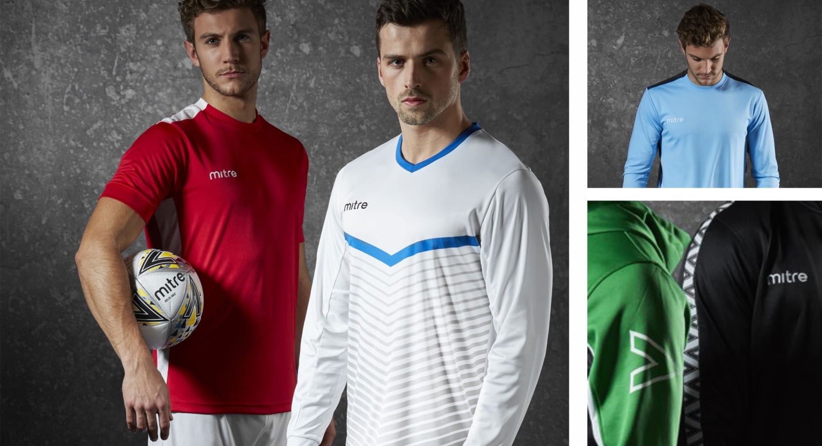 Mitre teamwear products
