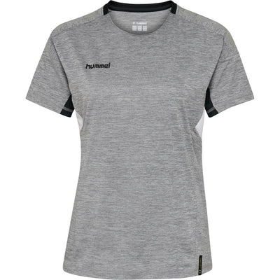 Hummel Tech Move Jersey Woman SS - Grey Melange