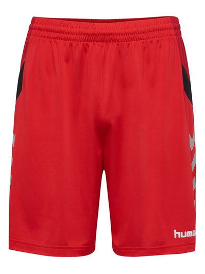 Hummel Tech Move Poly Shorts - True Red