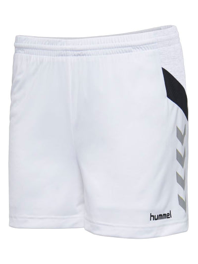 Hummel Tech Move Poly Shorts Woman - White