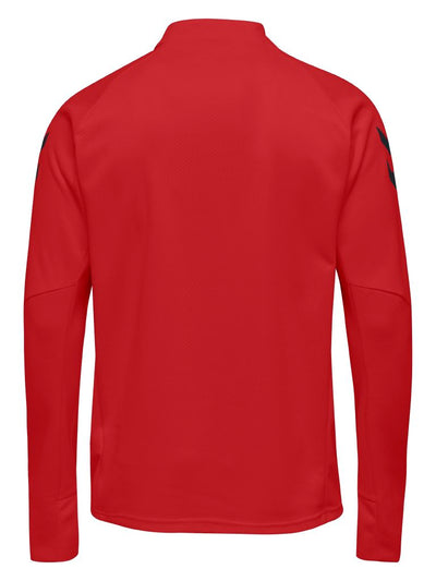 Hummel Tech Move Half Zip Sweatshirt - True Red