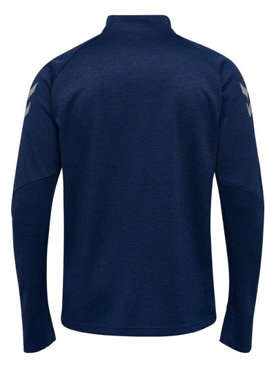 Hummel Tech Move Half Zip Sweatshirt - Marine Melange