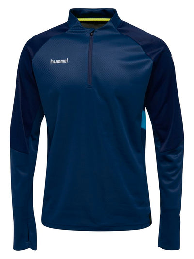 Hummel Tech Move Half Zip Sweatshirt - Sargasso Sea