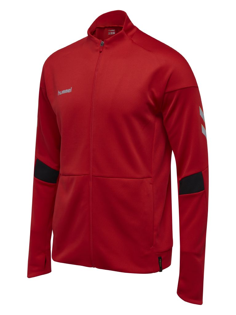 Hummel Tech Move Poly Zip Jacket - True Red