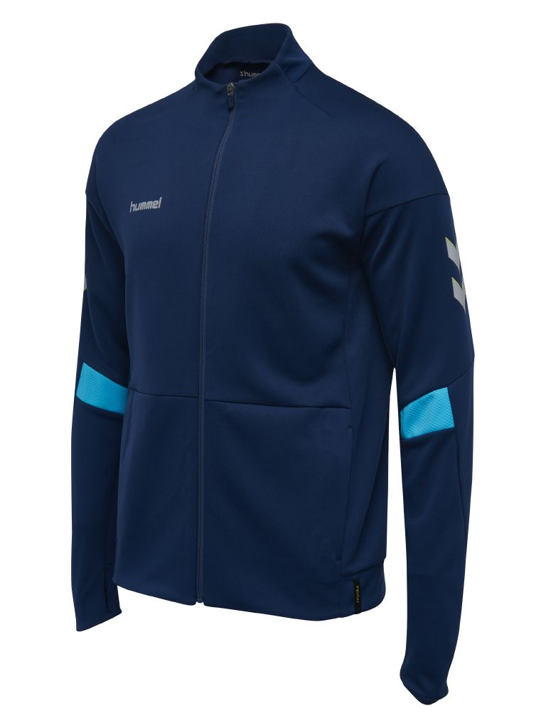 Hummel Tech Move Poly Zip Jacket - Sargasso Sea
