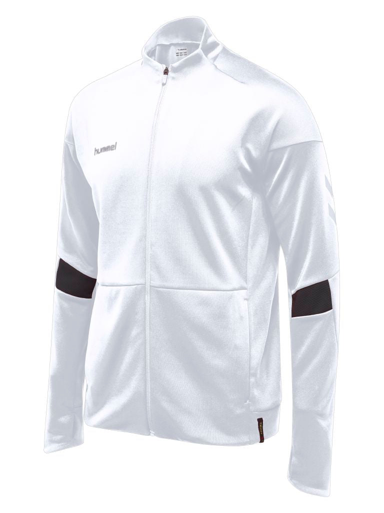 Hummel Tech Move Poly Zip Jacket - White