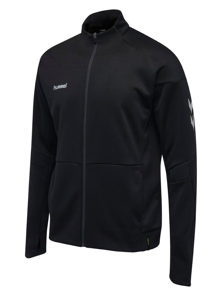 Hummel Tech Move Poly Zip Jacket - Black