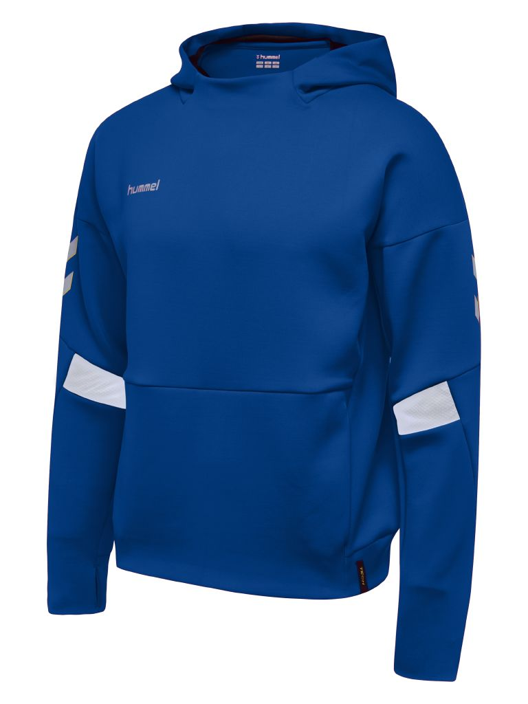 Hummel Tech Move Poly Hoodie - True Blue