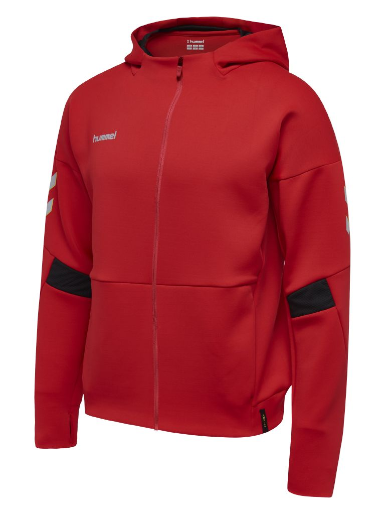 Hummel Tech Move Zip Hoodie - True Red