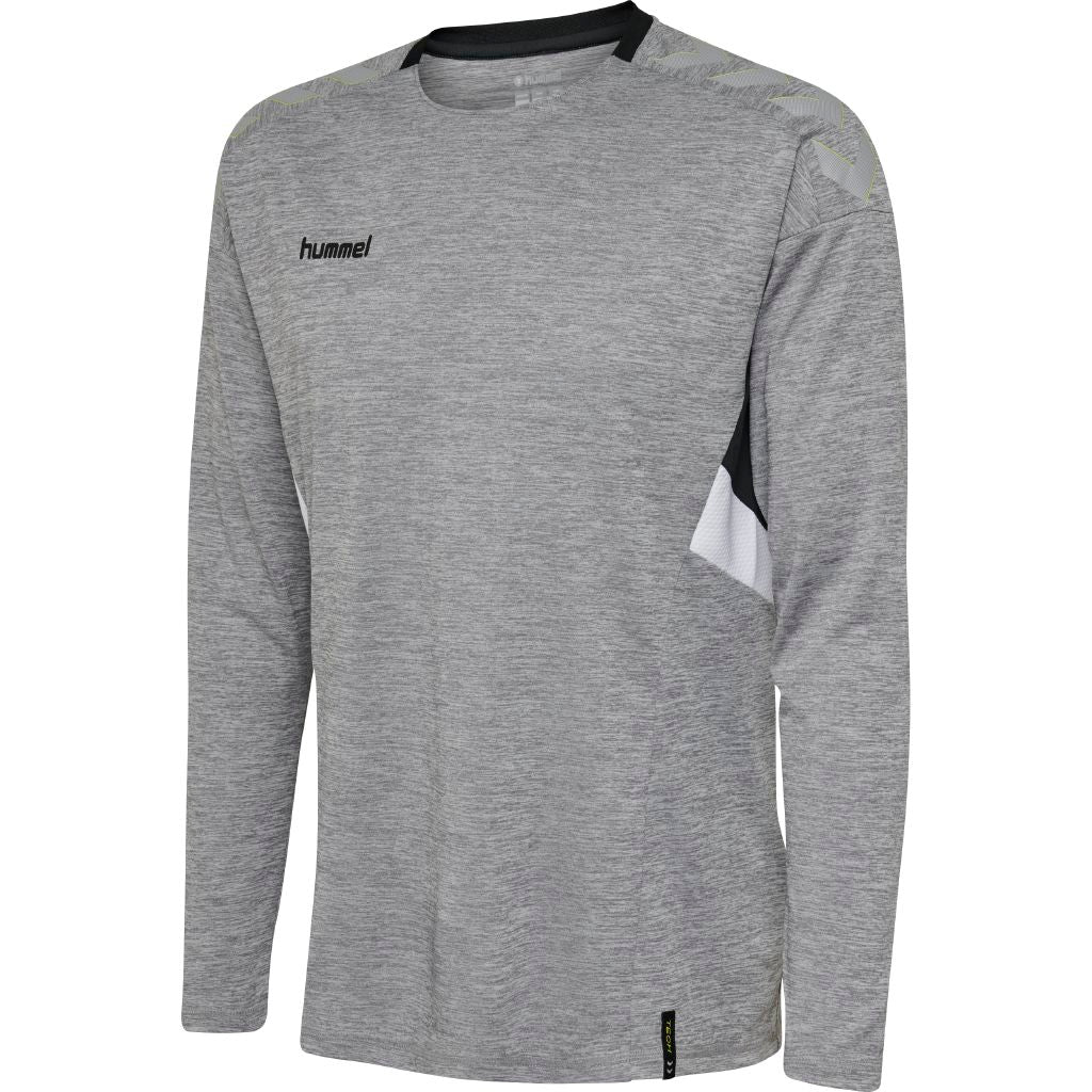 Hummel Tech Move Jersey LS - Grey Malange