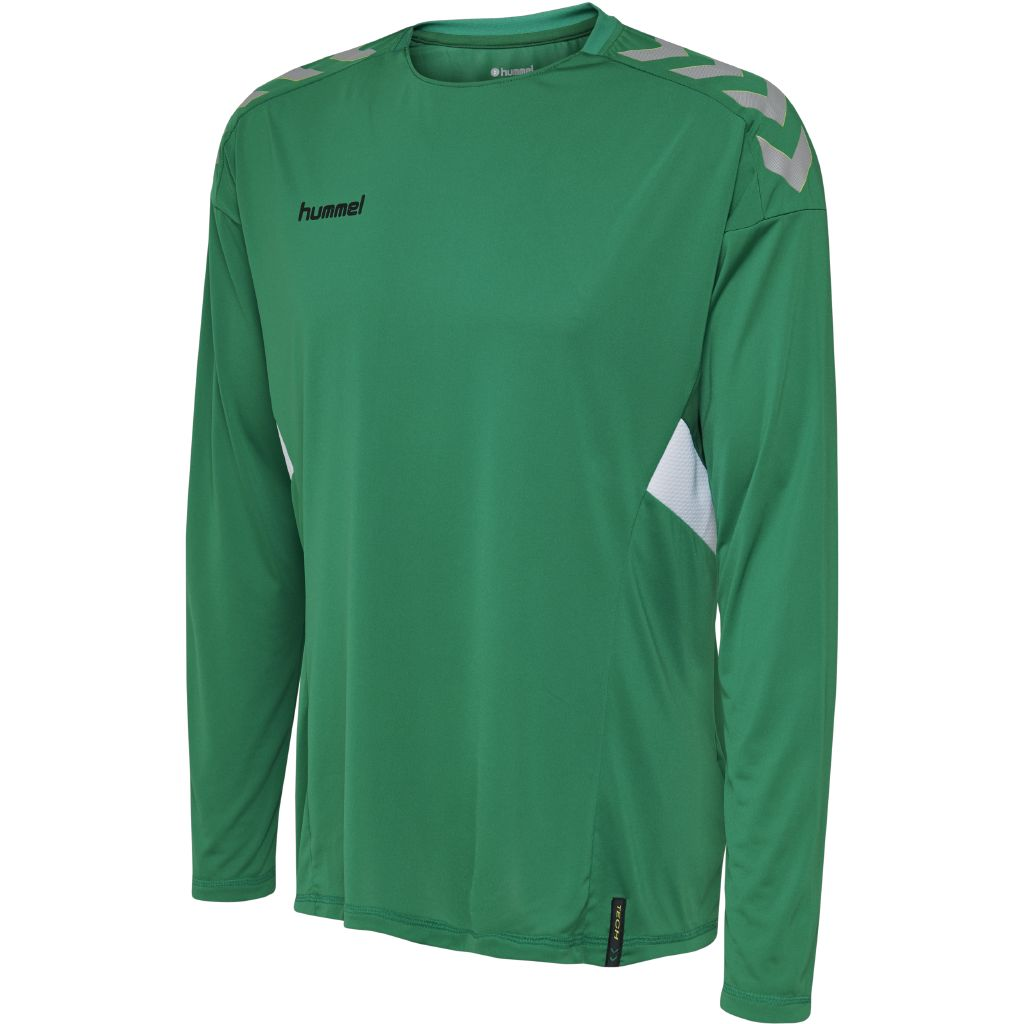 Hummel Tech Move Jersey LS - Sports Green