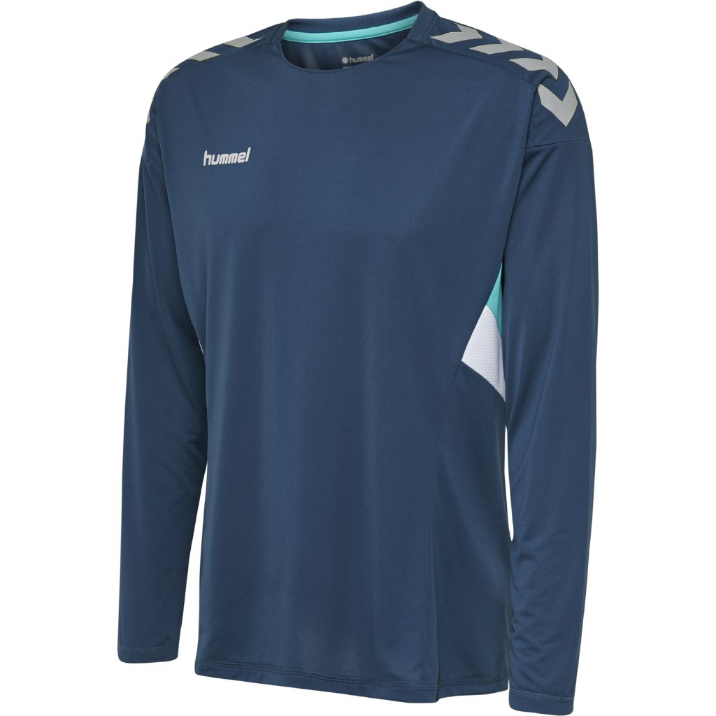 Hummel Tech Move Jersey LS - Sargasso Sea