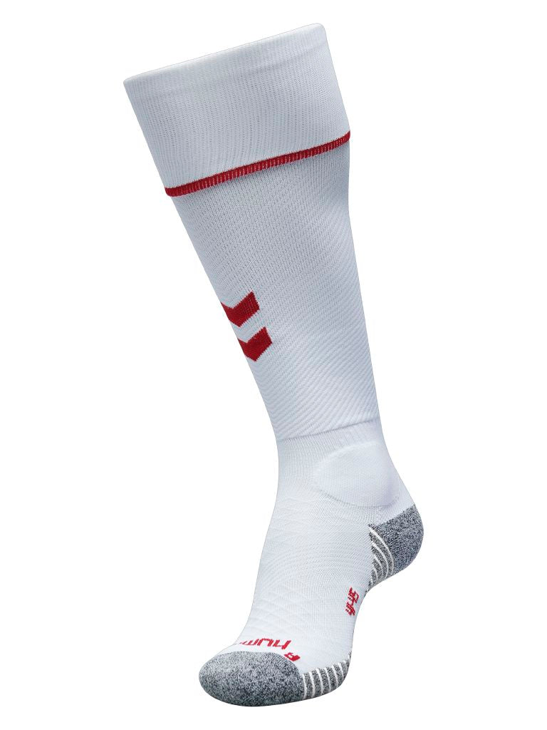Hummel Pro Football Sock - White/True Red