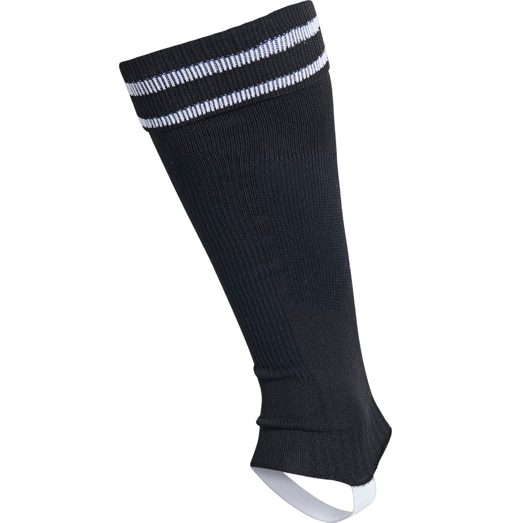 Hummel Element Football Sock Footless - Black/White
