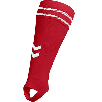 Hummel Element Football Sock Footless - True Red/White