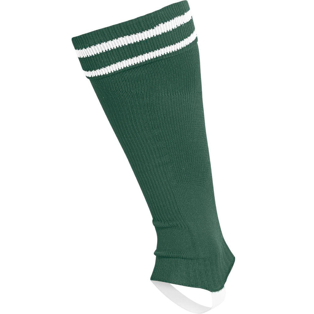 Hummel Element Football Sock Footless - Evergreen/White