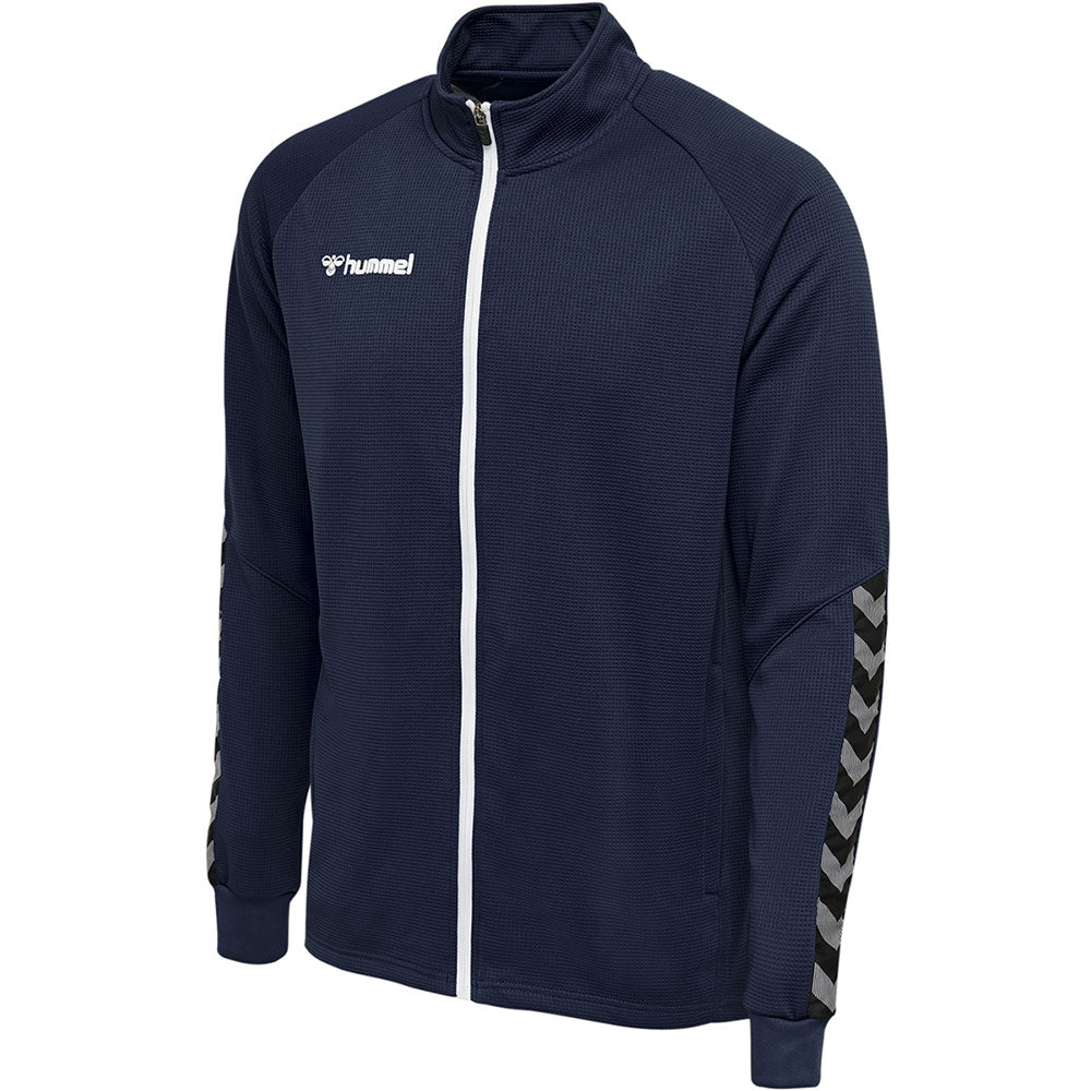 Hummel HMLAuthentic Poly Zip Jacket - Marine