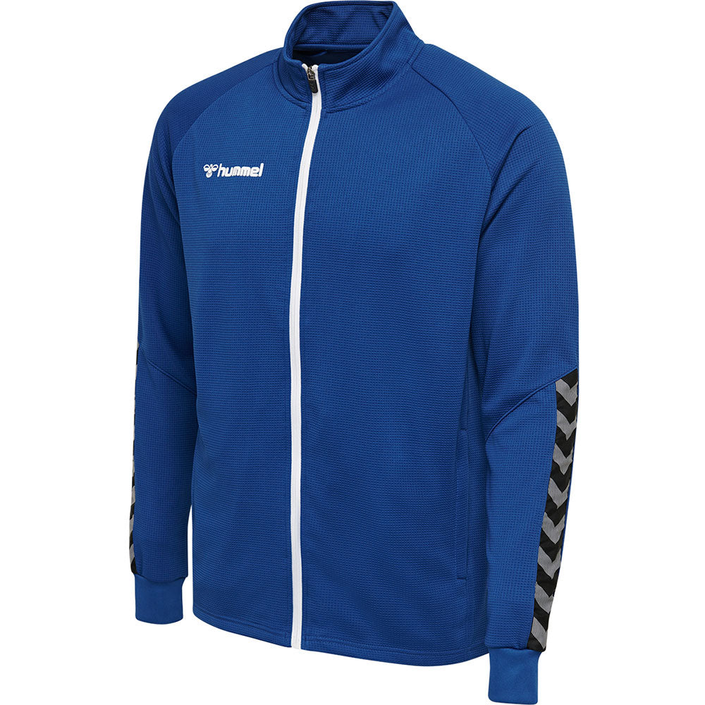 Hummel HMLAuthentic Poly Zip Jacket - True Blue