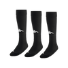 Kappa Penao high match sock in black with white knitted Omini on the shin