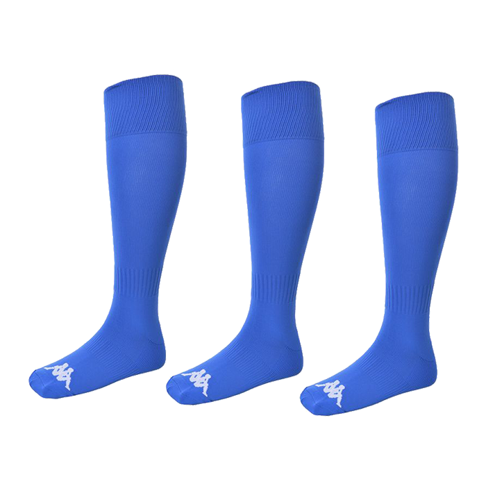 Kappa Lyna sock in blue nautic (royal) with white Omini on the foot