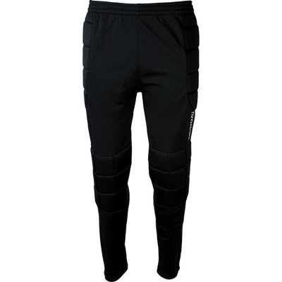 Kappa Goalkeeper pant in black with padded side panels