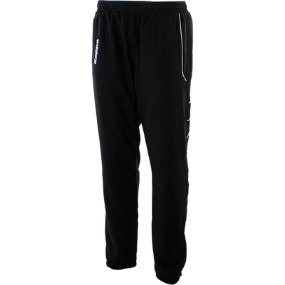 Kappa taverno track pant in black with Kappa embroidered on the front in white.