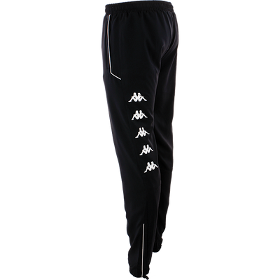 Kappa taverno track pant in blue marine with Omini printed on the side in white