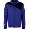 Kappa Pentone jacket in blue nautic (royal) with black contrast across shoulders and authentic logo on the chest