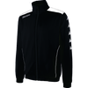 Kappa tiriolo tracktop in black with white contrast piping.