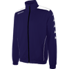Kappa tiriolo tracktop in blue marine (navy) with white contrast piping.