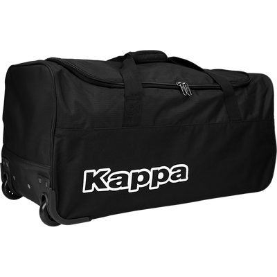 Kappa Tarcisio Trolley Bag in black and white