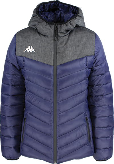 Kappa Doccia womans padded jacket in blue marine