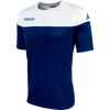 Kappa Mareto Match Shirt SS - Blue Marine/White