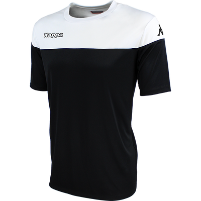 Kappa Mareto Match Shirt SS - Black/White