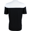 Kappa Mareto short sleeve shirt in black and white contrast shoulders