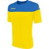 Kappa Mareto Match Shirt SS - Yellow/Blue Nautic