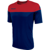 Kappa Mareto Match Shirt SS - Blue Marine/Red