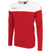 Kappa mareto long sleeve shirt in red and white