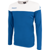 Kappa mareto long sleeve shirt in blue nautic and white