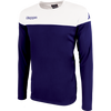 Kappa mareto long sleeve shirt in blue marine (navy) and white