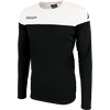 Kappa mareto long sleeve shirt in black and white
