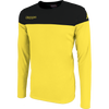 Kappa mareto long sleeve shirt in yellow and black