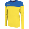 Kappa mareto long sleeve shirt in yellow and blue nautic
