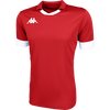 Kappa Tranio Match Shirt SS - Red/White