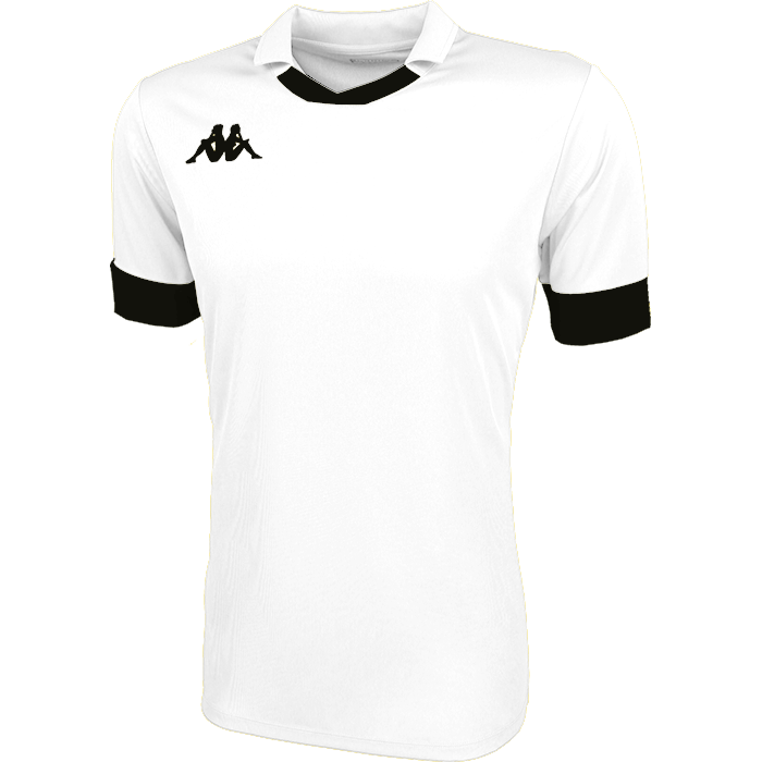 Kappa Tranio Match Shirt SS - White/Black