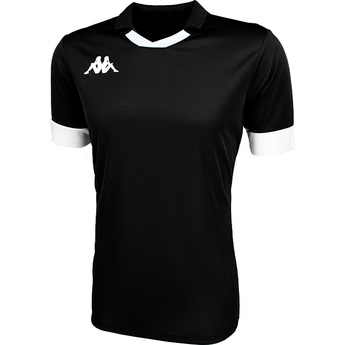 Kappa Tranio Match Shirt SS - Black/White